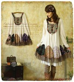 mori girl fashion style japanese