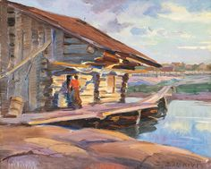 Hope Santeri Salokivi (Turku, September 1886 - Helsinki, March was a Finnish painter and art teacher, known for his Impressionist style of landscapes. Salokivi was also a graphic artist. Chur, Clarence Gagnon, Modern Artists, Artist Painting, Watercolor, Landscape, Europe, Sea, Musica