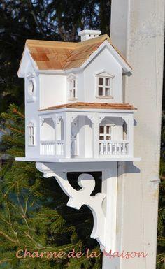 Vogelvilla New England http://www.charmedelamaison.de/Gartendekoration/