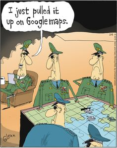 Google Maps #humour #cartoon