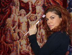 Konstantina Valera - Painting with oils, Impressionism, Expressionism