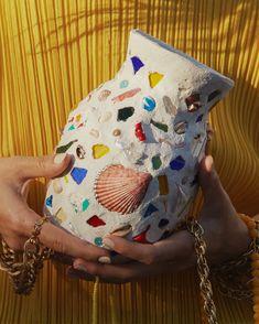Memor Founder Maxine Midtbo Transforms Found Objects into Ceramic Masterpieces Ceramic Pottery, Ceramic Art, Slab Pottery, Ceramic Bowls, Keramik Design, Mosaic Vase, Japanese Pottery, Pottery Studio, Art Studios