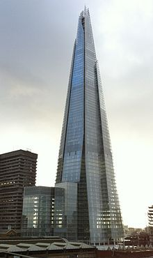 Renzo Piano - Shard London bridge inaugurato nel 2012