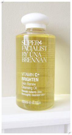 My Beauty Reviews.co.uk: Super Facialist by Una Brennan Vitamin C Skin Renew Cleansing Oil