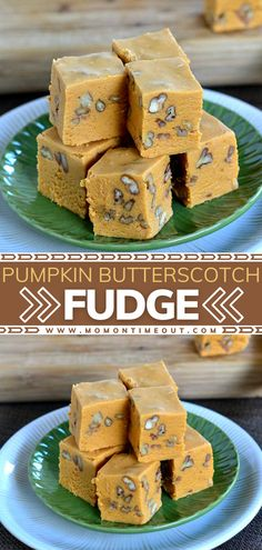Are you not having pie this Thanksgiving? Then this dessert is a must-make! You are going to love this creamy and incredibly delicious fudge filled with the flavors of pumpkin and butterscotch. Feel free to add nuts for a little texture! Pin this recipe for later!