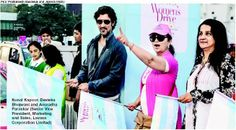 Kunal Kapoor flags off the event!