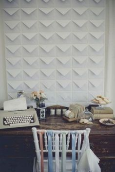 Good Ideas For You | DIY Wall Art- I'd like to do an ombre pattern