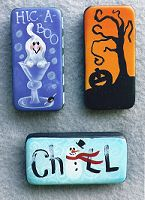 Just Fine Designs Painting Patterns by Sandy LeFlore Painted Bricks Crafts, Brick Crafts, Painted Pavers, Tile Crafts, Painted Books, Cement Pavers, Hand Painted, Domino Crafts, Domino Art