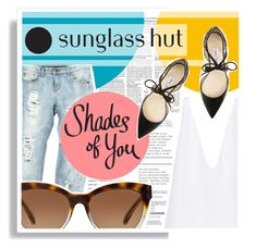 """Shades of You: Sunglass Hut Contest Entry"" by elaine-thai ❤ liked on Polyvore featuring OneTeaspoon, Michael Kors, Jimmy Choo, Cushnie Et Ochs, contestentry, sunglasshut and shadesofyou"