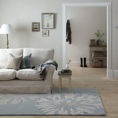 I like the unintrisive but pretty pattern on this rug... John Lewis Maggie Levien Ariana Rug Online at johnlewis.com