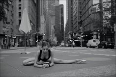 NYC. Alys - Columbus Circle // Ballerina Project
