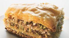 Walnut and Pistachio Baklava Recipe | Bon Appetit