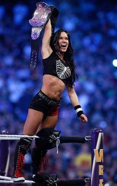 WWE Diva AJ Lee - The Most Beautiful Women in Wrestling
