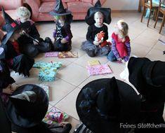 Hexenbesen basteln für die Hexenparty | Kindergeburtstag ...