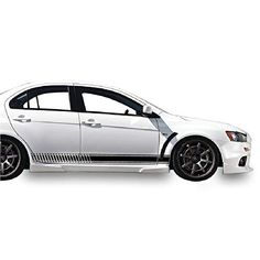 since 2007 REAR BUMPER PROTECTOR compatible with MITSUBISHI LANCER X 5d