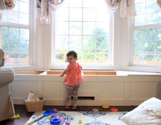 Great tutorial. Build this for family room bay window. alisaburke: DIY window seat