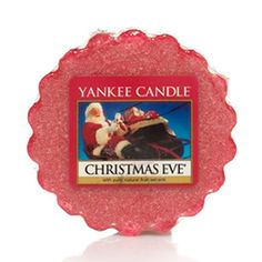 Christmas Eve Yankee Candle Company Tarts® Wax Melts - Traditional holiday scents of a warm hearth, sugared plums, and candied fruits.