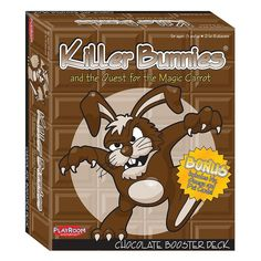 Killer Bunnies and the Quest for the Magic Carrot Chocolate Booster Deck by Playroom Entertainment, Brown Oth
