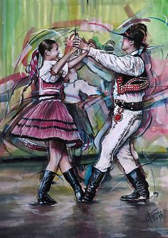 pucik / Lučnica svadbuje Color Pencil Art, Colored Pencils, Dancing, Costumes, Traditional, Anime, Inspiration, Ballroom Dancing, Poster