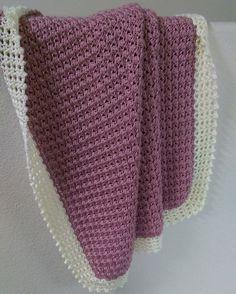 Crochet For Children: Textured Baby Blanket - Free Pattern