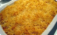 Classic Macaroni and Cheese Casserole Baked In a Water Bath - this is the BEST mac and cheese that my friend finally shared with me! Macaroni And Cheese Casserole, Baked Macaroni Cheese, Baked Mac And Cheese Recipe, Cheese Recipes, Bath Recipes, Baking Recipes, Kitchen Recipes, Yummy Recipes, Dessert Bars