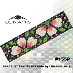 Bracelet design /pdf format/ pattern only. Create this beautiful peyote cuff bracelet. This is a DIGITAL product, no physical goods will be sent! (Materials are NOT included!) Miyuki Delica Beads size 11/0 Odd count with 7 bead colors. 31 bead columns by 92 bead rows. Width: 1.64 (4,2 cm) Length: 6.4 (16,2 cm) If you like the pattern but would like it in a different size - write me a message and Ill try to customize it. Patterns include: - Large colored numbered graph pape...