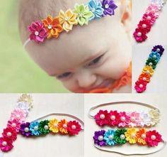 cintillos elasticos para bebes