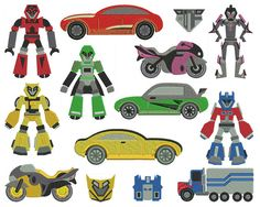 TRANSFORMERS  Machine Embroidery  Patterns  by embroiderquilt