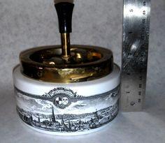 Royal Porzellan Bavaria KM Germany Spin Ashtray 1900's Prospect Von Schwabach Please click this pic to Buy it Now! Thanks!