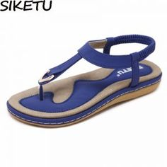 USD SIKETU Summer Shoes Women Bohemia Ethnic Flip Flops Soft Flat Sandals Woman Casual Comfortable Plus Size Wedge Sandals Condtion:New without Beach Sandals, Flat Sandals, Gladiator Sandals, Summer Sandals, Strappy Flats, Flat Shoes, Leather Sandals, Womens Summer Shoes, Womens Flats