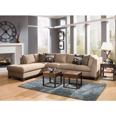 Living Room Furniture - Soho II 2 Pc. Sectional (Reverse) from Value City Furniture