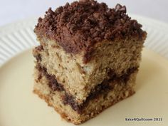 Sourdough Chocolate Crumb Cake | BakeNQuilt.com #SourdoughSurprises
