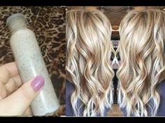Claramento de cabelo 100% natural caseiro - Você nunca mais vai fazer diferente! - YouTube