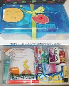 Teacher Survival Kit Gift Ideas Teacher Survival