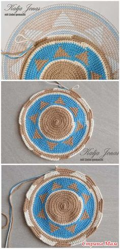 Wayuu Mochilla Bag How To . Tunisian Crochet, Filet Crochet, Crochet Motif, Crochet Stitches, Knit Crochet, Crochet Patterns, Crochet Case, Crochet Purses, Tapestry Bag