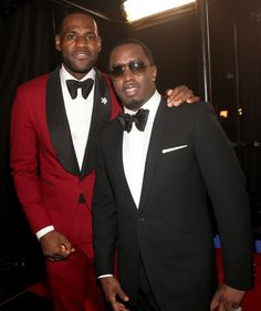 """LeBron James And Sean """"Diddy"""" Combs   GRAMMY.com"""
