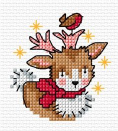Christmas baby deer | Lesley Teare Thoughts on Design