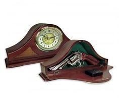 Mantle Clock Gun Concealer