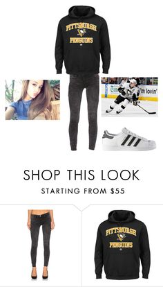 """""""Untitled #220"""" by cookiescore on Polyvore featuring BLANKNYC and adidas"""