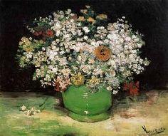 van Gogh Vincent - Vase avec des fleurs de champ