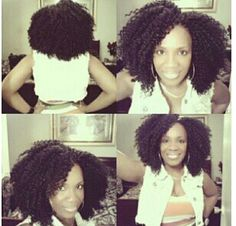 Crochet braids  I haven't done this style in awhile. Maybe my next protective style. #crochetbraids