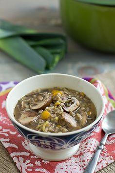 Recipe | Leek & Wild Mushroom Stew