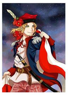 Something quick for Polish Independence Day. Poland Hetalia, Hetalia France, Hetalia Anime, Spamano, Hetalia Axis Powers, Valley Girls, America And Canada, Fan Art, Deviantart