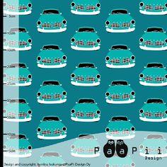 bio jersey vintage cars petrol (165 breed)