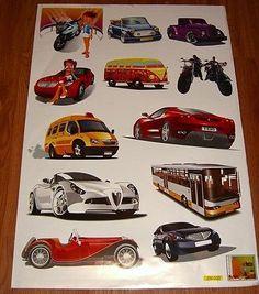 Baby #nursery children kid boy car #truck motorbike wall sticker #decal bedroom,  View more on the LINK: http://www.zeppy.io/product/gb/2/400661420426/