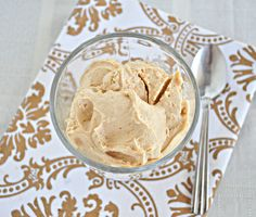 3 Ingredient Peanut Butter Ice Cream.  The most decadent tasting ice cream and it's made from only 3 simple ingredients!  Vegan and no processed sugars!  You gotta try this!