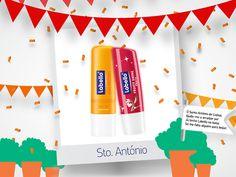 Amostras e Passatempos: Passatempo Santos Populares by Labello