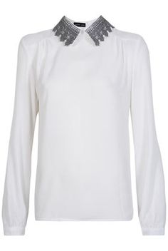 **Baroque Collar Blouse by Sister Jane