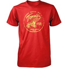 Tommies Tee Unisex Red, $23, now featured on Fab.