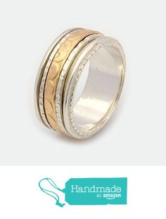 Spinner rings for women Handcrafted Polished Yellow Gold Filled Spinning Ring on a Sterling Silver base By Nature Jewellery MR1939GF from By Nature Jewellery https://www.amazon.com/dp/B01BAN3CBE/ref=hnd_sw_r_pi_dp_XffsybX6SMJ6M #handmadeatamazon